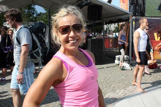 Yogaläraren Stina har yogaklasser och personlig träning i Göteborg.