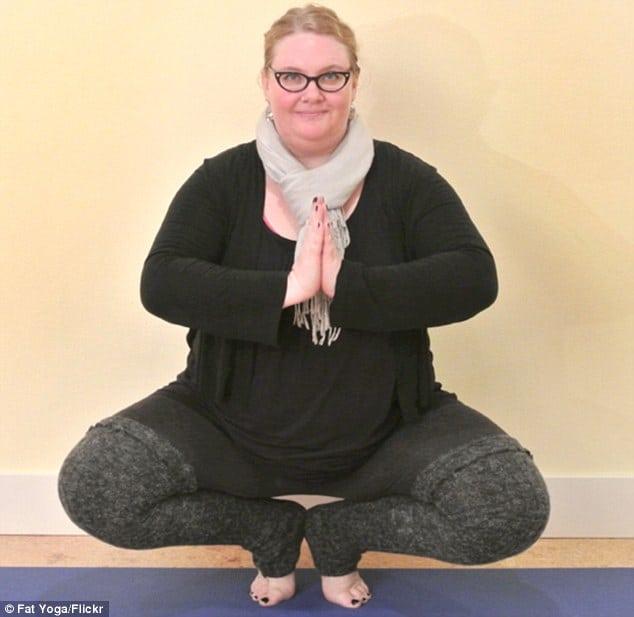 Anna Ipox driver yogastudion Fat yoga.
