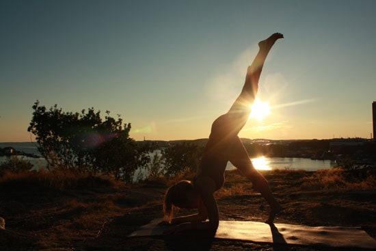 Yoga gör att jag känner mig mer attraktiv och avslappnad.