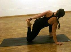 Yoga för löpare.