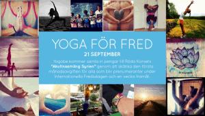 Yoga för freden