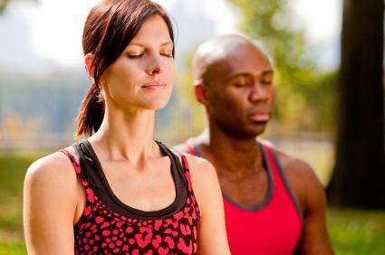 Yoga minskar högt blodtryck. Foto: Istockphoto/leaf