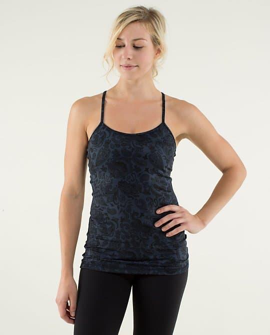 Paisley mönstrat linne från Lululemon, pris ca 540:-