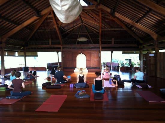 Yoga gör livet lättare.