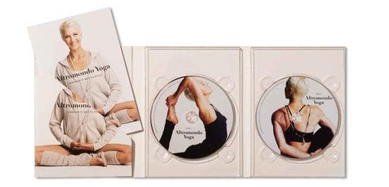 Jennie Liljefors släpper yoga DVD