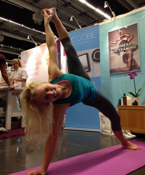 Milla Floryd på Fitnessfestivalen