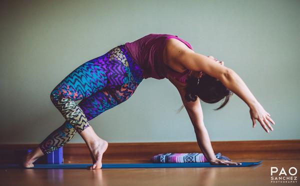 Yogaläraren MackKenzie Miller