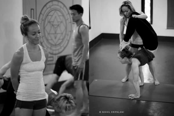Yogaläraren Kino McGregor och jag