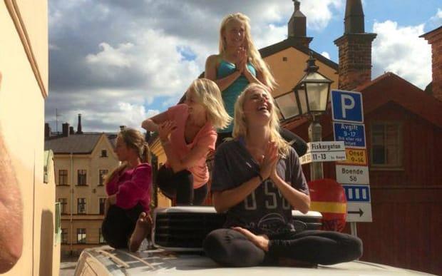 Pop Up Yoga Stockholm