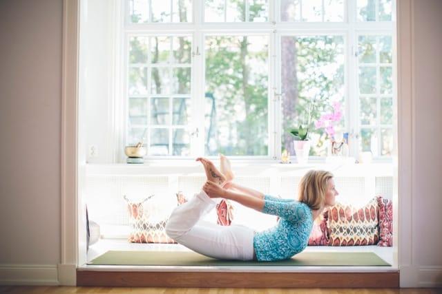 Elena von Dönhoff om yoga och vardagsstress