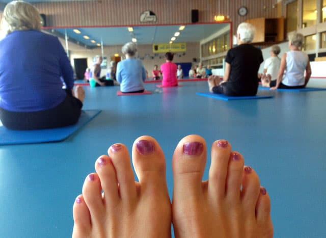 Yoga för pensionärer