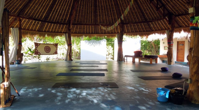 H20 – Yoga & meditationscenter på Gili Air