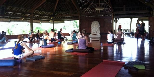 Yogastudion at Yoga Barn, Ubud, Bal