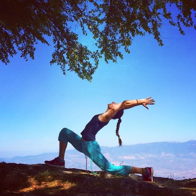 Yoga på Instagram med Martina Davitkova
