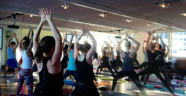 Yoga Games i Stockholm feb 2015
