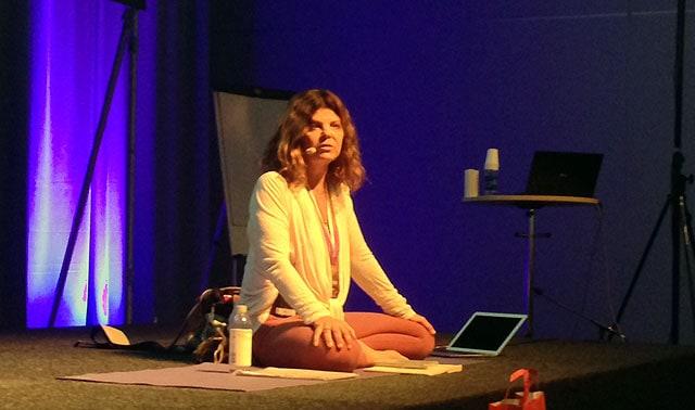 Maria Boox på Yoga Games