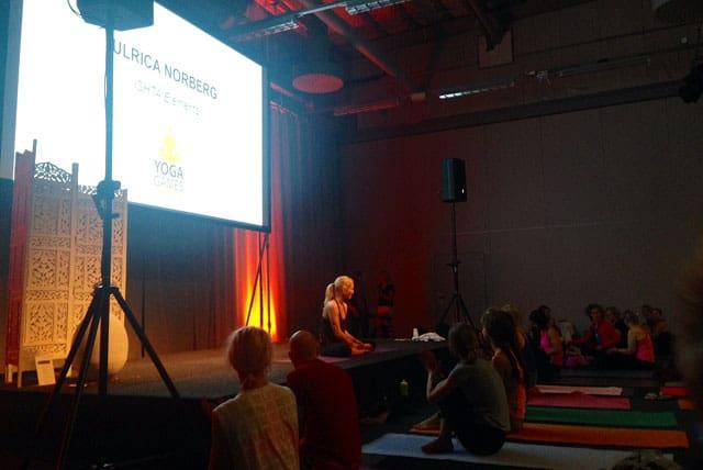 Ulrica Norberg på Yoga Games
