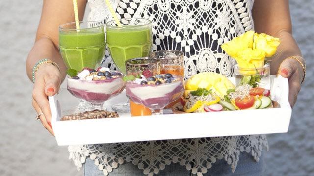 Karins frukost - Raw food & vegan.