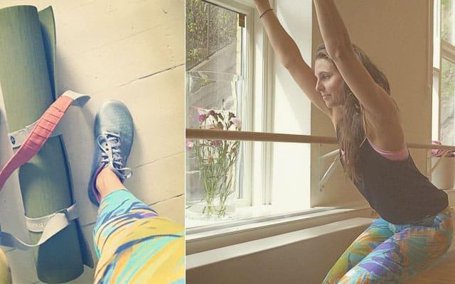 Johanna Alvin kombinerar yoga och löpning
