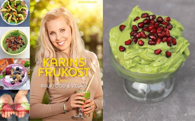 Grön glass till frukost med Karin Haglund