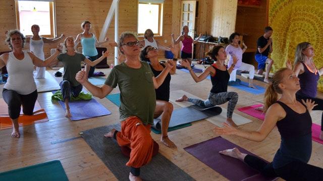 Yoga Celebration - festival på Mundekulla 2014