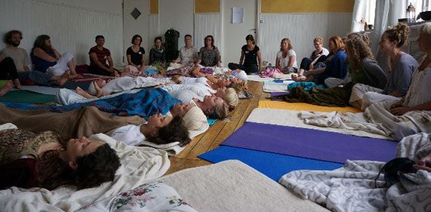 Yogafestivaldags utanför Göteborg!