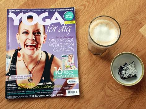 Vårnumret av tidningen Yoga för dig