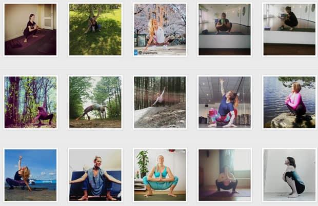 #Yogaspring – en utmaning på Instagram
