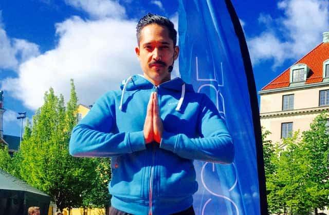 Yogaläraren Viktor Frih