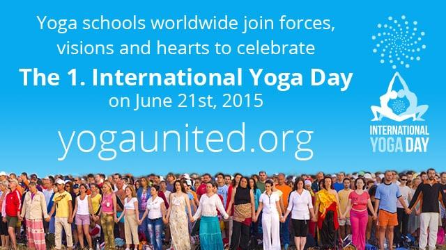 Yoga på Internationella yogadagen
