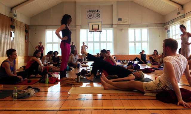 Terapeutisk yoga med Sianna