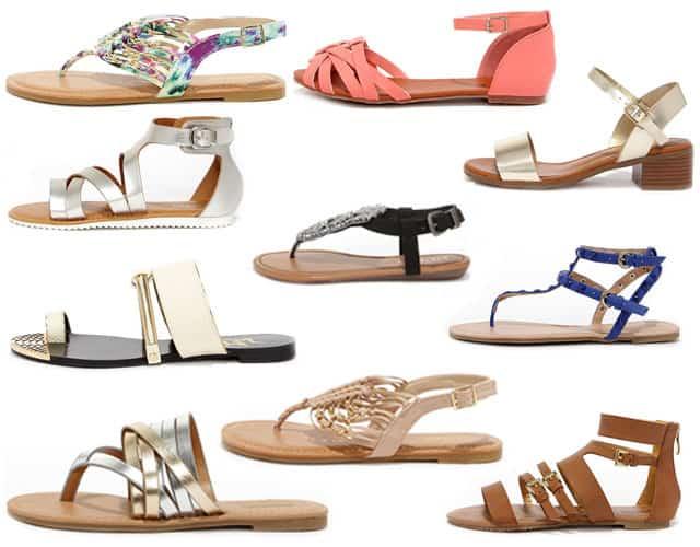 10 Snygga veggo sandaler