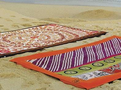Lyxigt & färgglatt för strandyoga