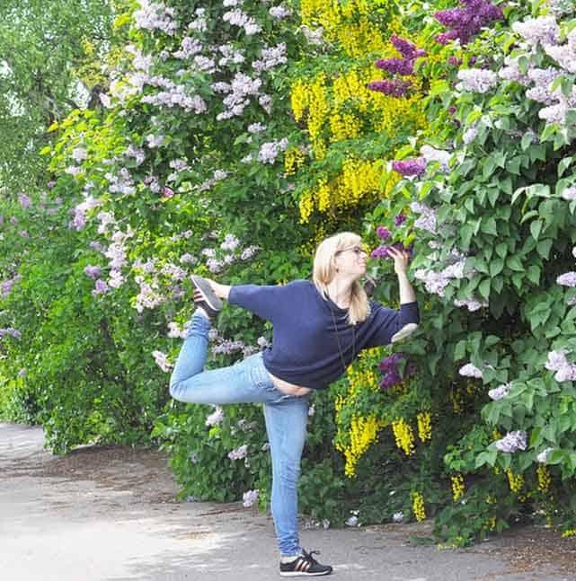 Inspireras av yogisen Anna Germundsson