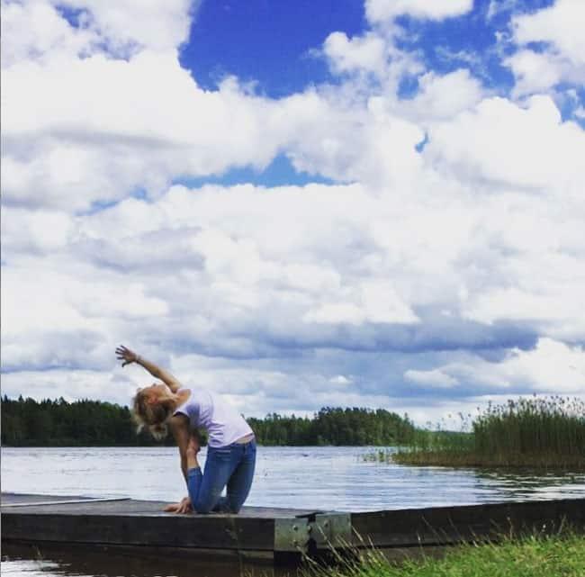 Mrs Maggis yogaresa på Instagram