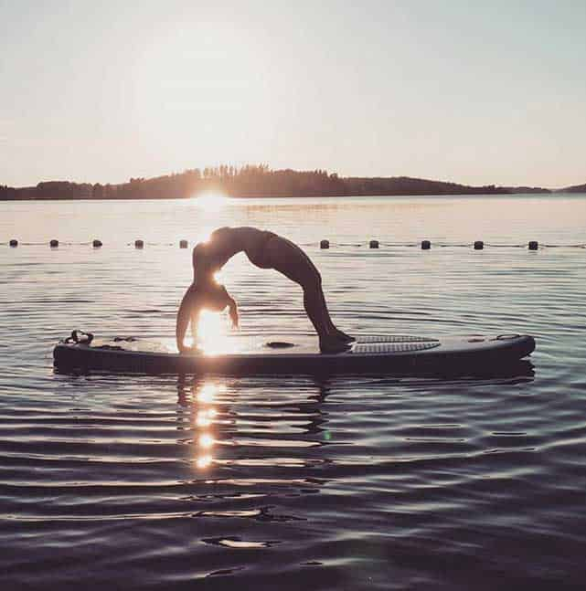 Yoga på Instagram med Vevve
