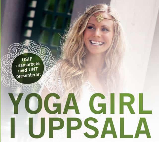 Yoga Girl kommer till Uppsala