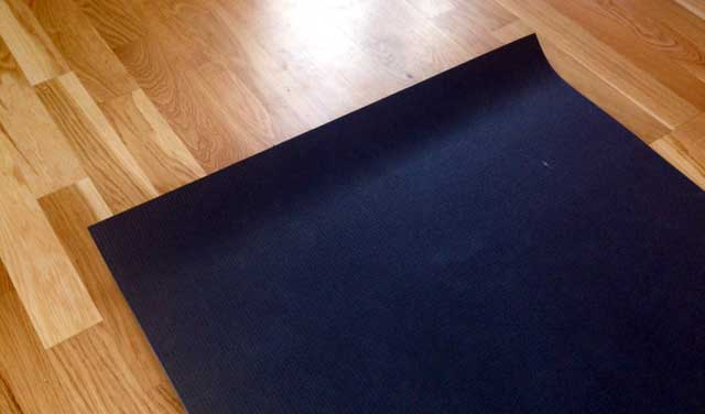 Yogamatta säljes