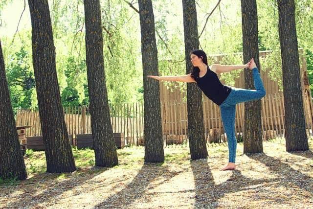 Yogaläraren Martina Cederqvist