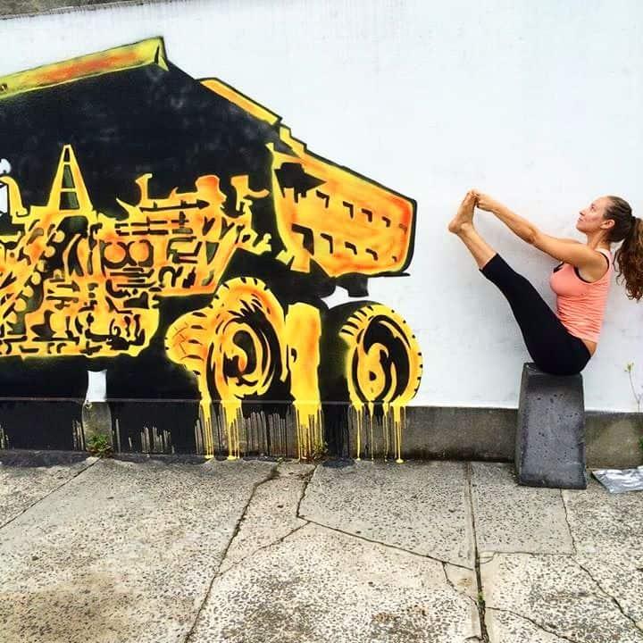 Yoga till DJ-musk i helgen i Stockholm
