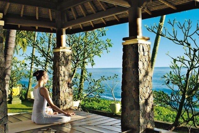 3 vackraste yogahotellen på Bali