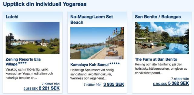 Yogaresor till Bali hittar du på SpaDreams.se