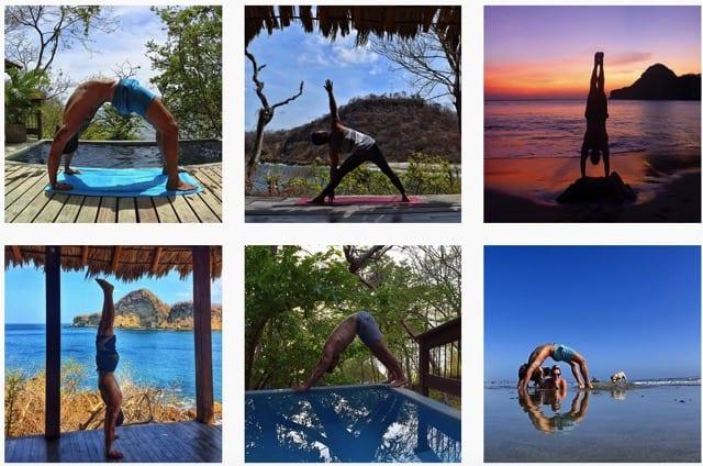 Oc-yoga på Instagram
