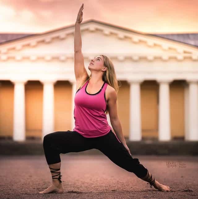 Yogaläraren Julia Ilke