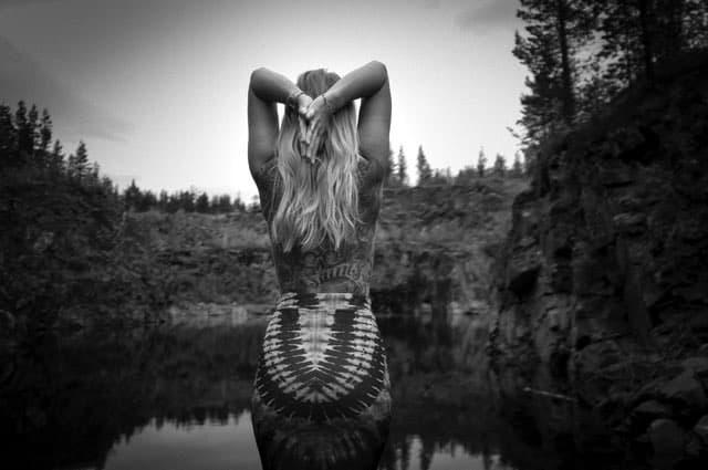 Yogaläraren Tiina Ravelin