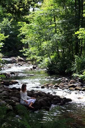 Börja meditera med andningsmeditation.