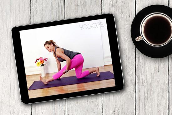 Yoga hemma med friskvårdsbidraget