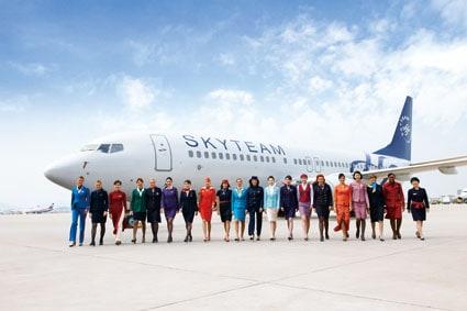 SkyTeam erbjuder Yoga till sina medlemmar