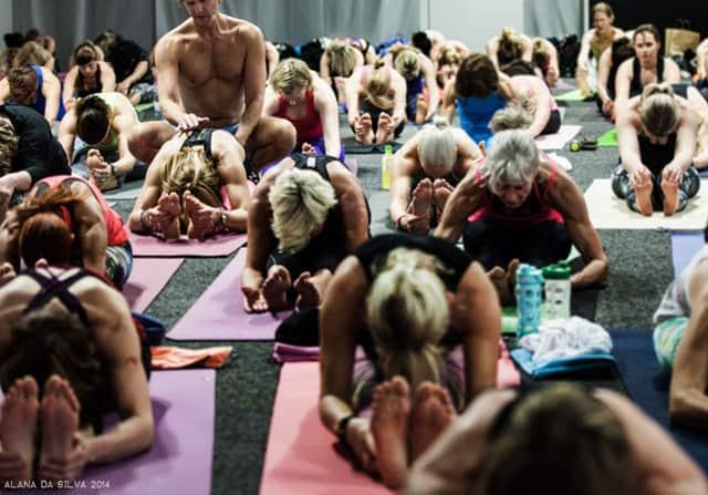 Premiär för Yoga Games Stockholm