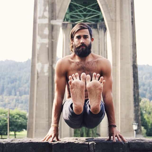 Yogaläraren Patrick Beach